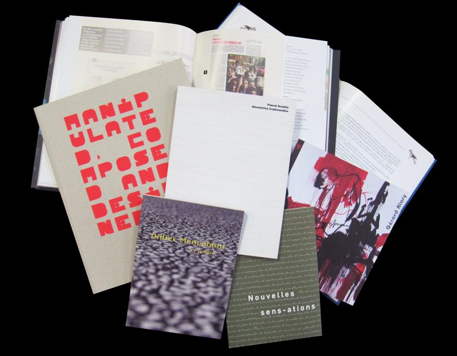 Livres, Catalogues de galeries